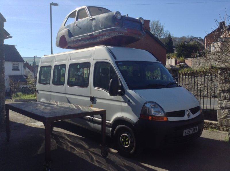 image-of-van-purchased-by-andy-hazell-with-car-on-top